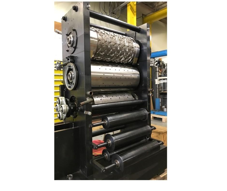 Unité de découpe des anneaux de six paquets, industrie de l'emballage