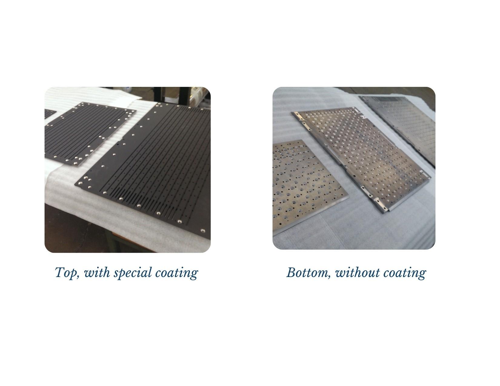 SR Machine Vacuum Table Plates Set