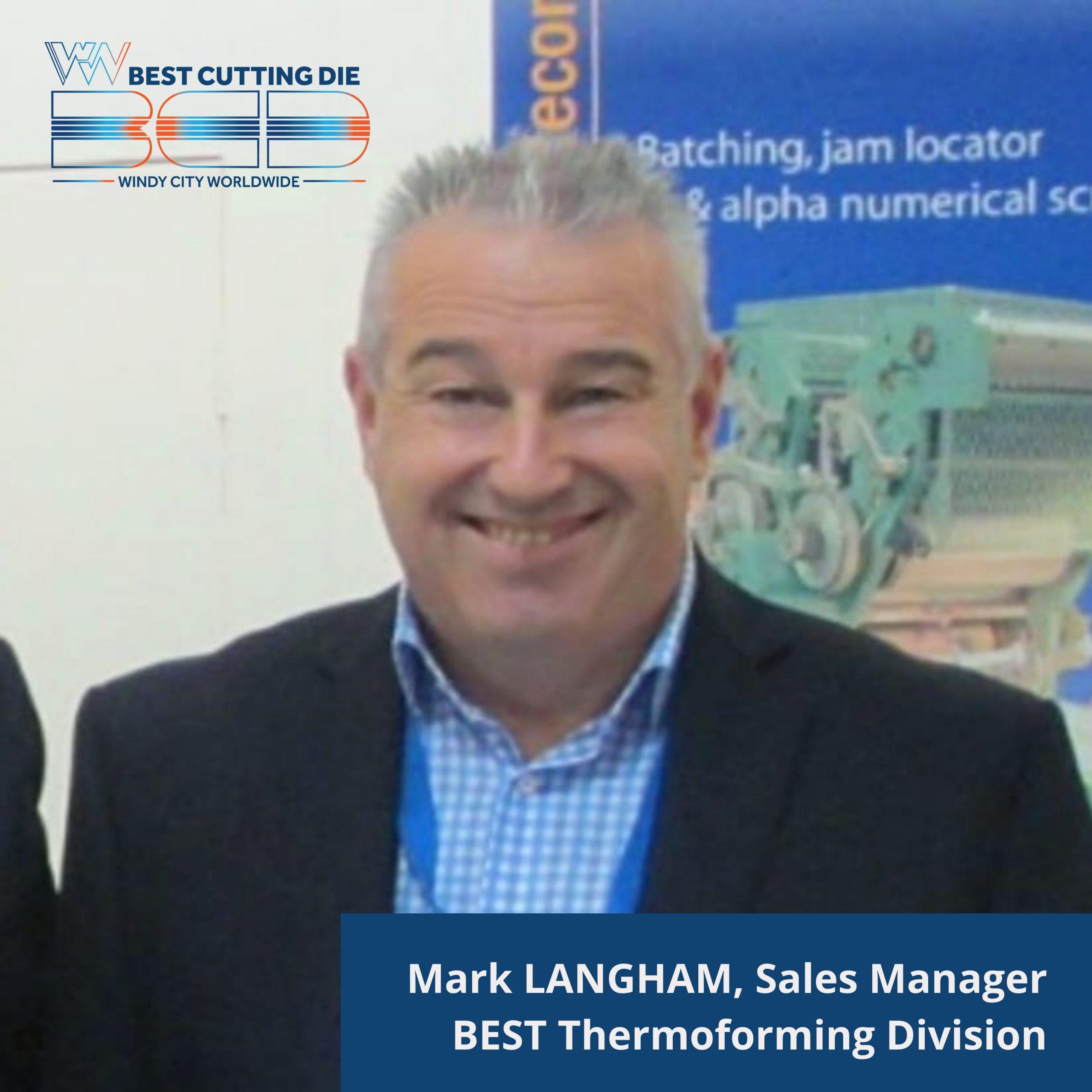 Mark Langham, Sales Manager
